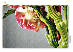 Carry-all Pouch featuring the photograph Cockscomb Bouquet 5 by Sarah Loft
