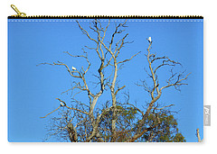Carry-all Pouch featuring the photograph Cocky Tree  by Mark Blauhoefer