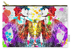 Coco Chanel Grunge 2 Carry-all Pouch