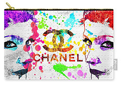 Coco Chanel Grunge Carry-all Pouch by Daniel Janda