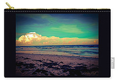 Cocoa Beach At Dusk Carry-all Pouch