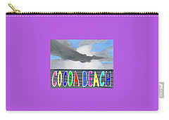 Cocoa Beach Poster T-shirt Carry-all Pouch