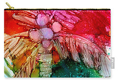 Carry-all Pouch featuring the painting Coconut Palm Tree by Marionette Taboniar