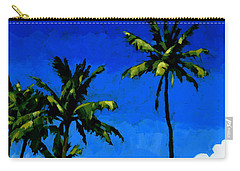 Coconut Palms 5 Carry-all Pouch