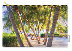 Coconut Palms Inn Beachfront Carry-all Pouch