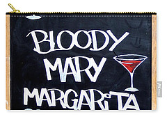 Cocteles Spain Carry-all Pouch by Alan Armstrong