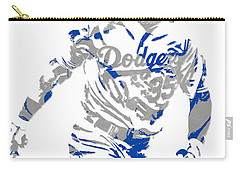 Cody Bellinger Los Angeles Dodgers Pixel Art 1 Carry-all Pouch