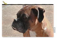 Cody The Boxer Carry-all Pouch by Belinda Lee