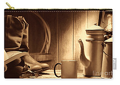 Coffee At The Ranch Carry-all Pouch