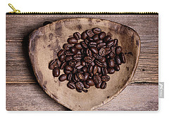 Coffee Beans In Antique Scoop. Carry-all Pouch