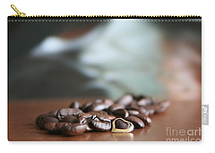 Carry-all Pouch featuring the photograph Coffee Lover  by Lynn England