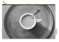 Coffee On A Wooden Tray Carry-all Pouch