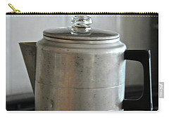 Carry-all Pouch featuring the photograph Coffee Pot by Ann E Robson