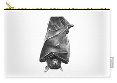 Coffie The Fruit Bat Carry-all Pouch by Abbey Noelle
