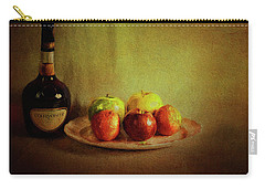 Cognac And Fruits Carry-all Pouch