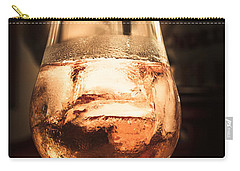 Cognac Glass On Bar Counter Carry-all Pouch