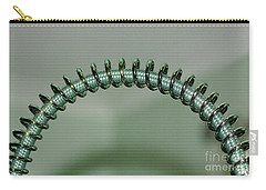 Carry-all Pouch featuring the photograph Coiled 2 By Kaye Menner by Kaye Menner