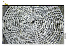Coiled By D Hackett Carry-all Pouch by D Hackett