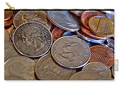 Coins In A Heap Carry-all Pouch