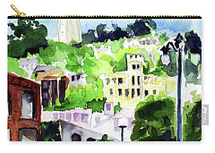 Coit Tower From The Embarcadero Carry-all Pouch