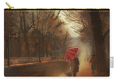 Cold Autumn Morning Painting Carry-all Pouch
