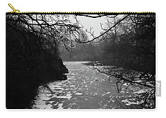 Carry-all Pouch featuring the photograph Cold by Inge Riis McDonald