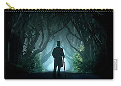 Cold Morning In Dark Hedges Carry-all Pouch