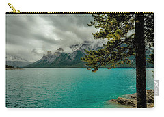Cold Morning On Lake Minnewanka Carry-all Pouch