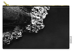 Cold White Diamonds Carry-all Pouch by Darren White