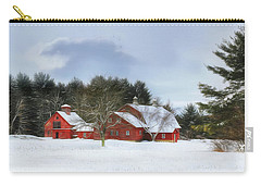Cold Winter Days In Vermont Carry-all Pouch