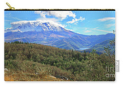 Coldwater Lake At Mt. St. Helens Panorama Carry-all Pouch