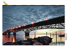 Coleman Bridge Reflections Carry-all Pouch