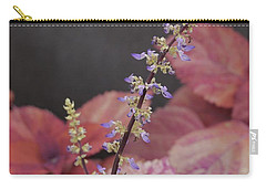 Coleus Blooming Carry-all Pouch by Tim Good