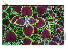Coleus Leaves Carry-all Pouch