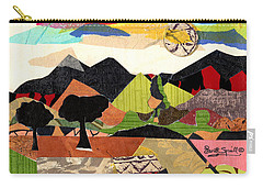 Mountain Landscape Collage  1 Carry-all Pouch
