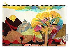 Mountain Landscape Collage 2 Carry-all Pouch