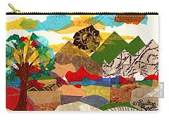 Collage Landscape 3 Carry-all Pouch