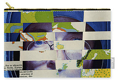 Collage Verso Carry-all Pouch