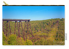 Collapsed Kinzua Railroad Bridge Carry-all Pouch