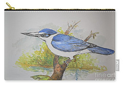 Collared Kingfisher Carry-all Pouch