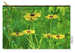 Carry-all Pouch featuring the photograph Collection In The Clearing by Bill Pevlor