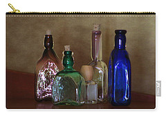 Collection Of Vintage Bottles Photograph Carry-all Pouch