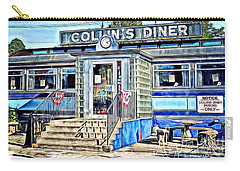 Collin's Diner New Canaan,conn Carry-all Pouch