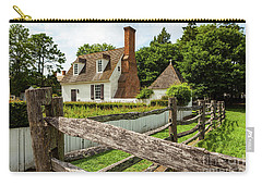 Colonial America House Carry-all Pouch