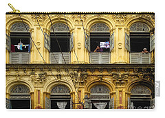 Colonial Facade Bo Soon Pat Street 8th Ward Central Yangon Burma Carry-all Pouch