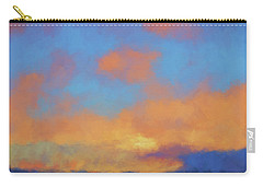 Carry-all Pouch featuring the digital art Color Abstraction Lvii by David Gordon