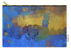 Carry-all Pouch featuring the digital art Color Abstraction Lviii by David Gordon