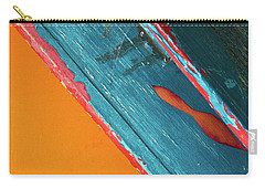 Carry-all Pouch featuring the photograph Color Abstraction Lxii Sq by David Gordon