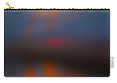 Carry-all Pouch featuring the photograph Color Abstraction Lxiii Sq by David Gordon
