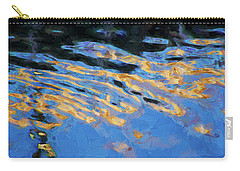 Carry-all Pouch featuring the photograph Color Abstraction Lxiv by David Gordon